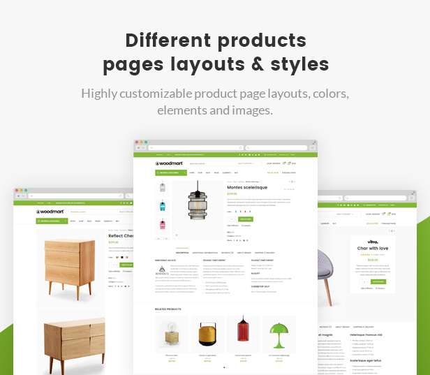 WoodMart  - products layouts - WoodMart – Responsive WooCommerce WordPress Theme