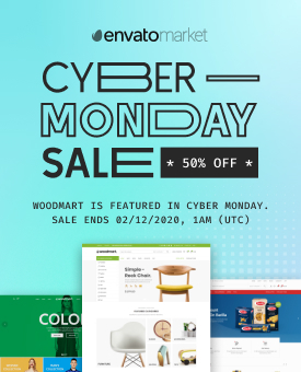 WoodMart Cyber Monday Sale